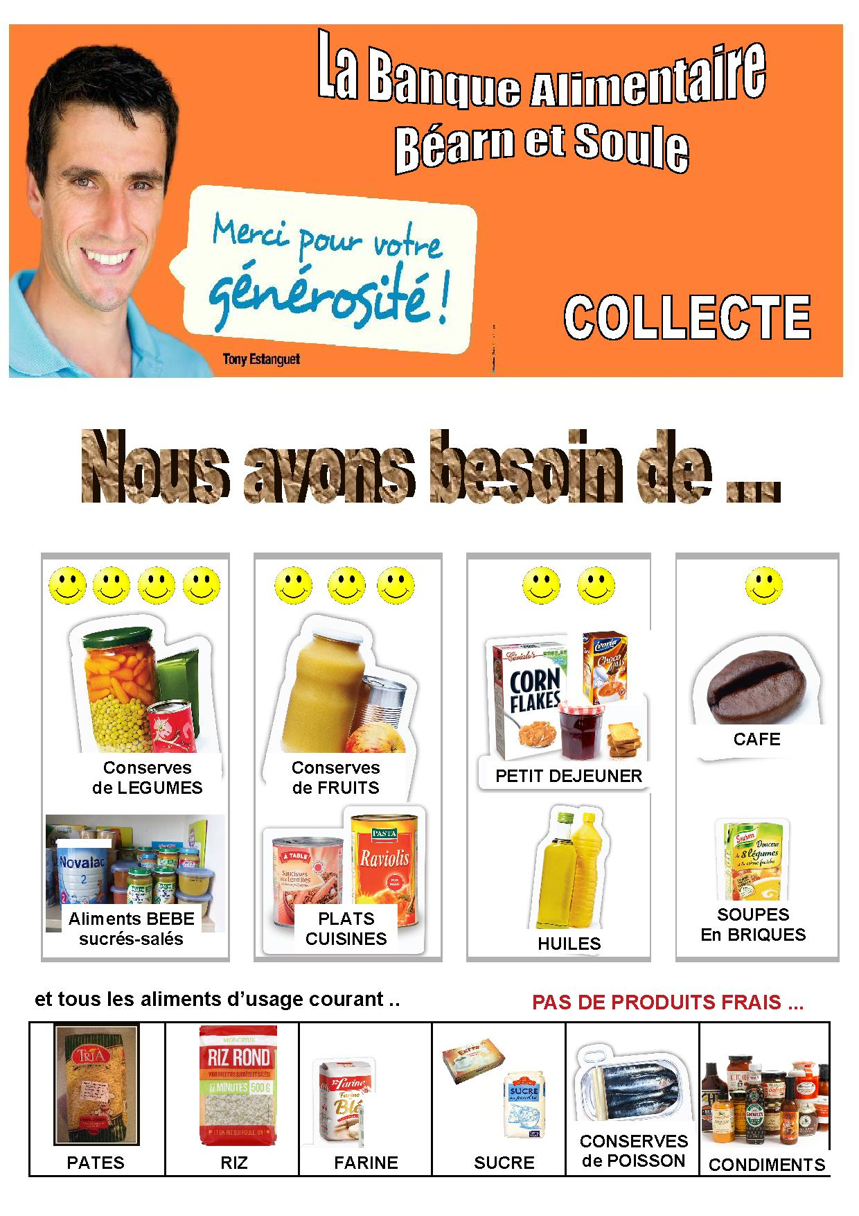 Bque Alimentaire Besoins