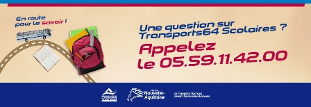 Transports scolaires 64