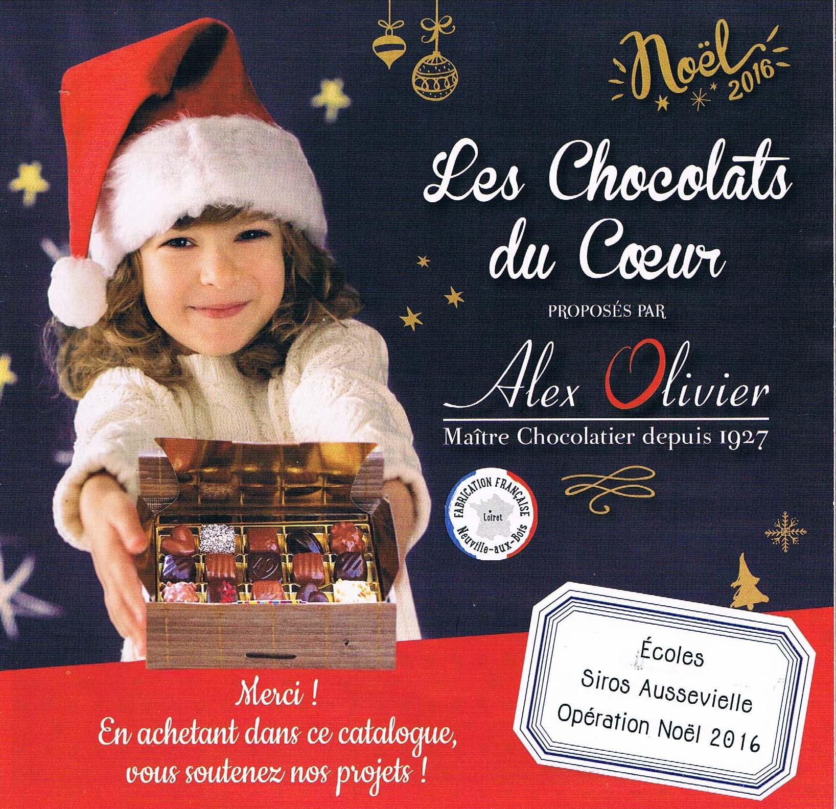 Chocolats Catalogue 2016